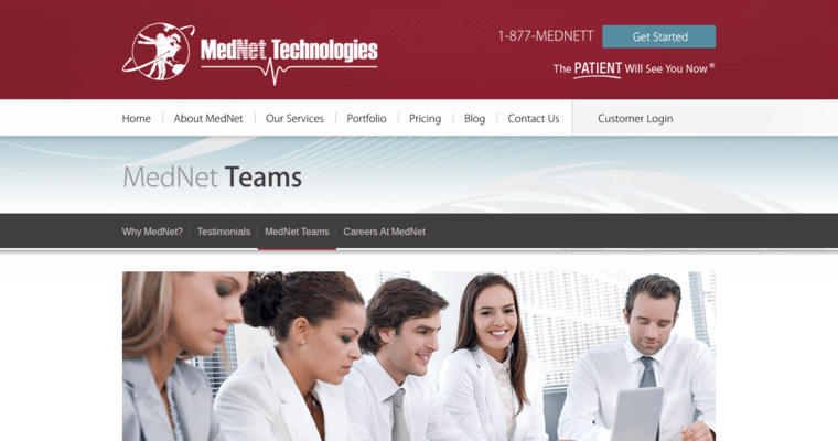 Team Page of Top Web Design Firms in New York: MedNet Technologies