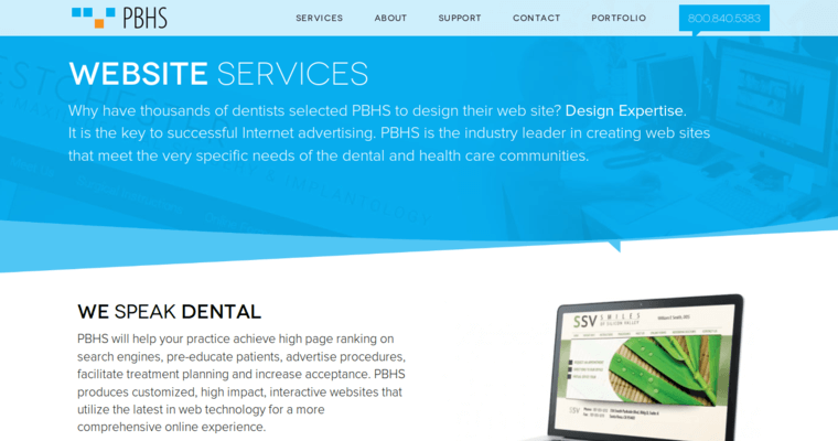 Pbhs new york web design for Service design firms