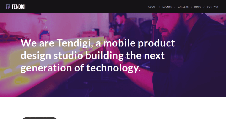Home Page of Top Web Design Firms in New York: Tendigi