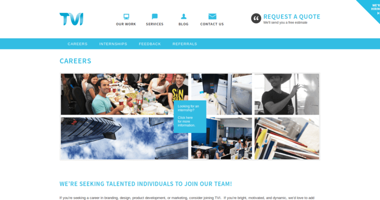 Contact Page of Top Web Design Firms in New York: TVI Designs
