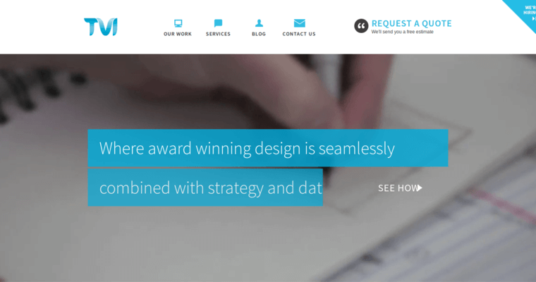 Home Page of Top Web Design Firms in New York: TVI Designs