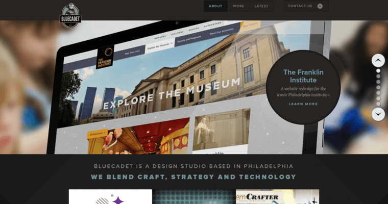Home Page of Top Web Design Firms in Pennsylvania: BlueCadet