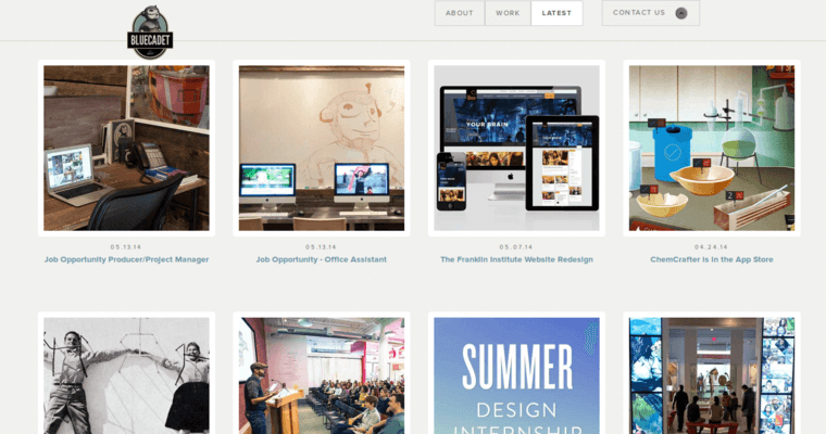 News Page of Top Web Design Firms in Pennsylvania: BlueCadet