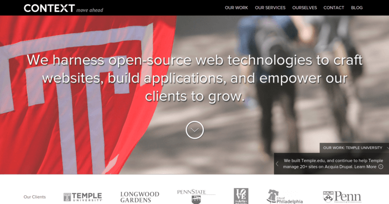 Home Page of Top Web Design Firms in Pennsylvania: Context