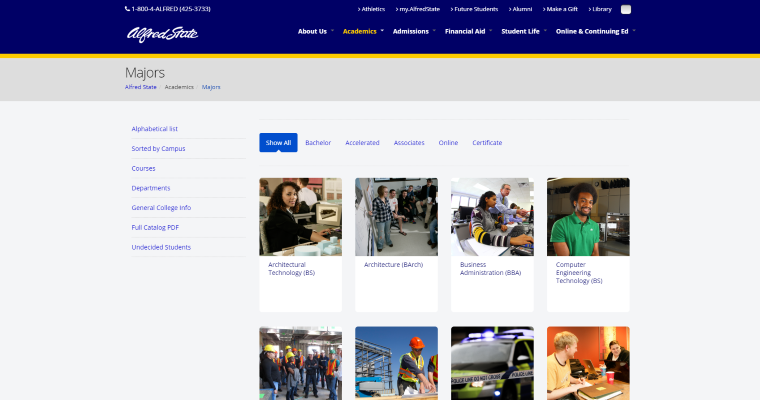 Suny College Of Technology Top Web Design Programs 10 Best Design
